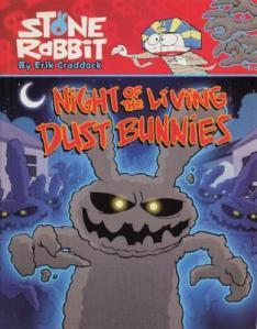 stone rabbit dust bunnies