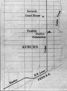 Auburn Interurban Map