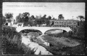 Interurban Bridge Post Card