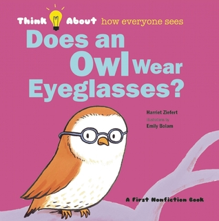 owl wear eyeglasses