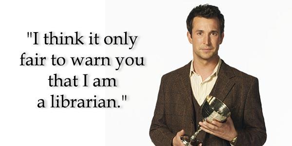 Image result for librarian meme