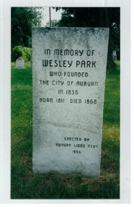 Wesley Park Memorial