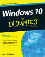 windows 10 dummies