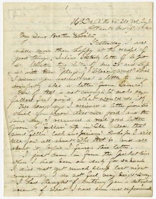 Civil War Letter 2A