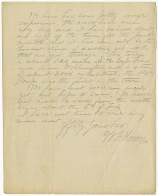 Civil War Letter 3B