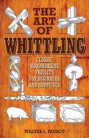 art of whittling