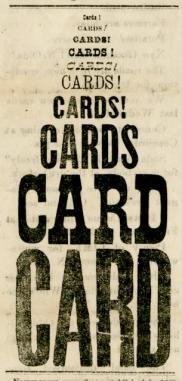 St. Joe News Cards Ad #4