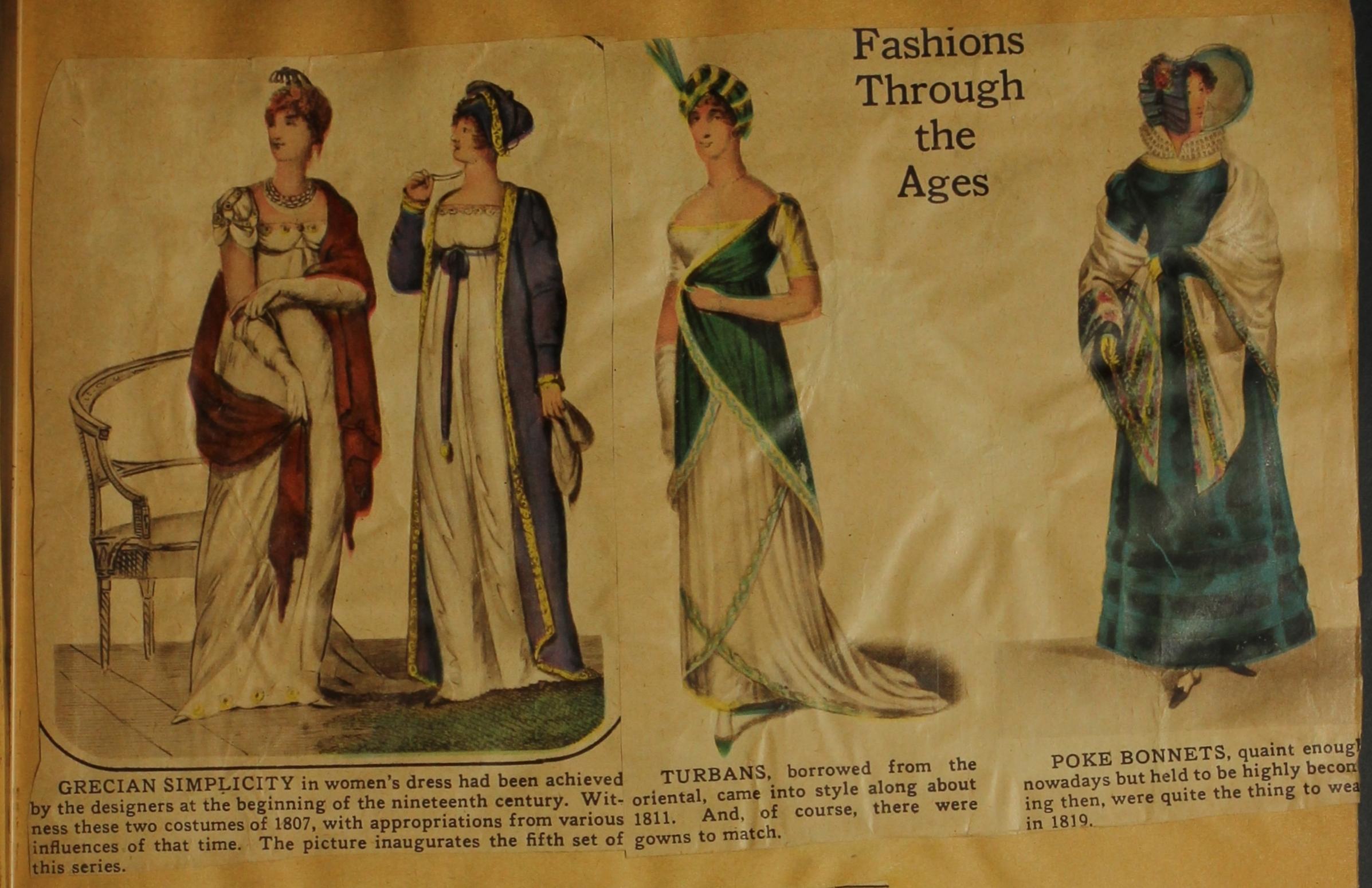 English fashion through the ages 86