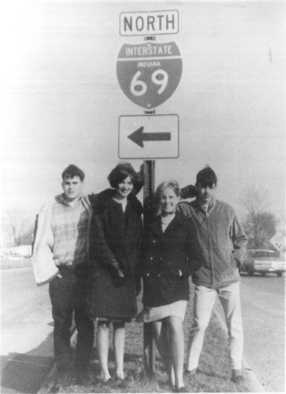 1967 - Opening of I-69 North