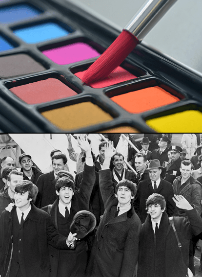 Paint+Beatles