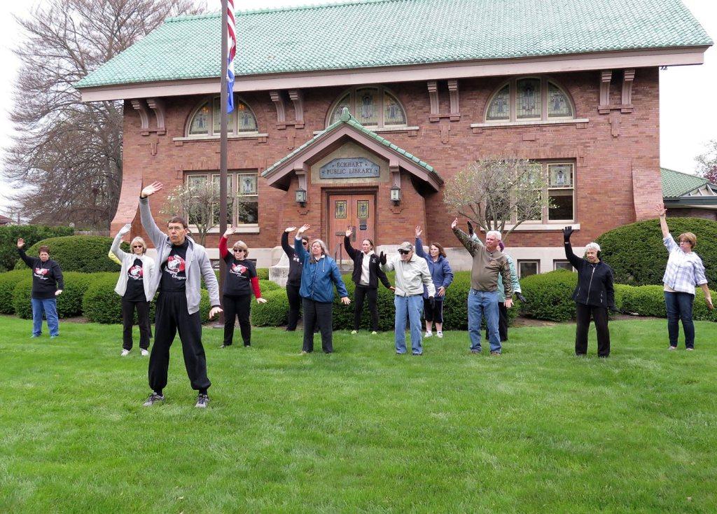Celebrate World Tai Chi & Qigong Day at Library