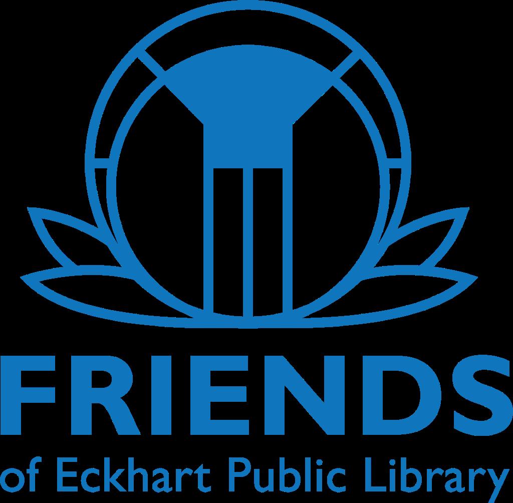 Friends of Eckhart Public Library Logo